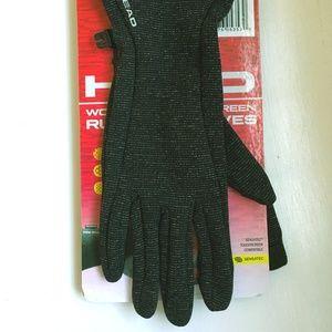 HEAD Running Gloves w/ Touchscreen - Size M